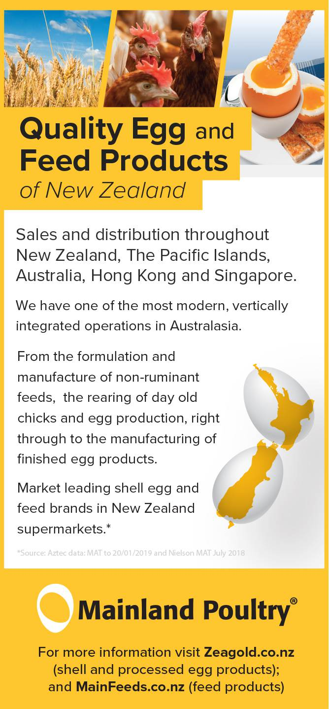 Mainland Poultry / Zeagold Quality Eggs
